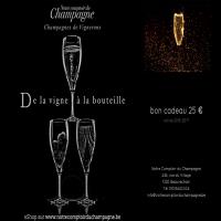 bon cadeau 25 euro notre comptoir du champagne
